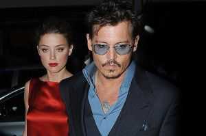 Johnny Depp and Amber Heard Arrive at Cipriani Restaurant in London for dinner after the Lone Ranger Premiere in London. Featuring: Johnny Depp & Amber Heard Where: London, United Kingdom When: 21 Jul 2013 Credit: Craig Harris/WENN.com
