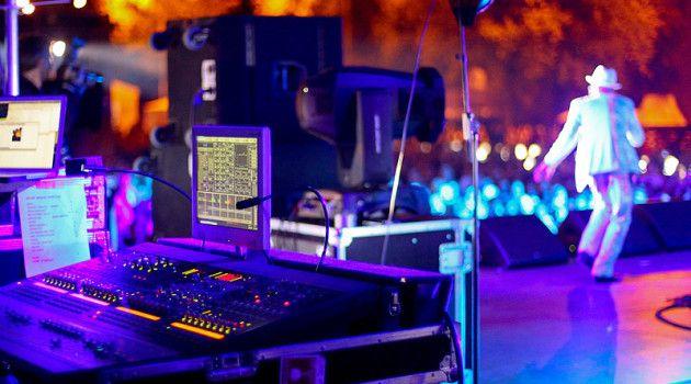 оборудование для концерта