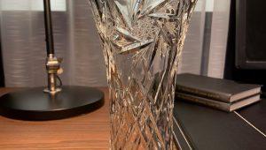ваза из хрусталя